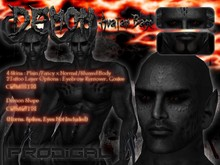 * Prodigal * :F: Male Demon avatar base - black