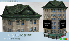 [MA] Builder Kit Mesh Building2