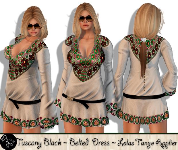 ***Arisaris  Tuscany White~Lolas Tango Applier