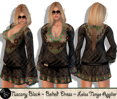 ***Arisaris  Tuscany Black~Lolas Tango Applier