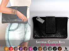 Bens Beauty - Smyrna Clutch Bag with Texture change hud