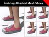 Sample image 42 mesh shoes