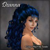 Deanna Blue Hair