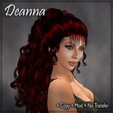 Deanna Blood Red Hair