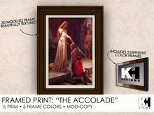 "KH Living: ""The Accolade"" Framed Print, 5 Different Frame Colors"
