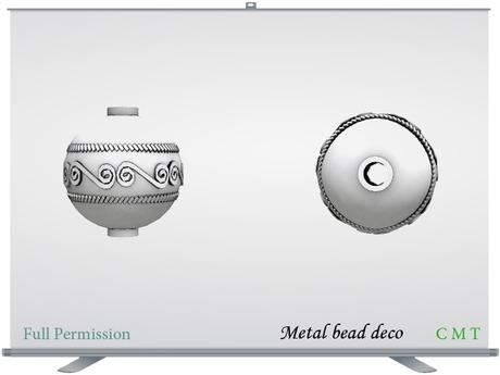 Metal bead deco Full Permission