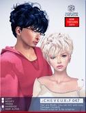 .:CHEVEUX:.F047 BLONDES  HAIR SET
