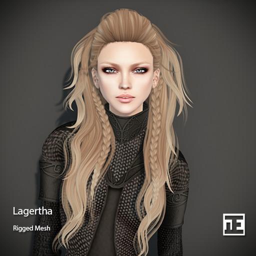 TRUTH HAIR Lagertha (Mesh Hair) - DEMO