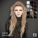 TRUTH HAIR Lagertha (Mesh Hair) - black & whites