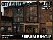 CITY FILLER 4 - MESH - URBAN JUNGLE