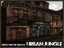 CITY FILLER 5 - MESH - URBAN JUNGLE