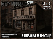 CITY FILLER 9 - MESH - URBAN JUNGLE