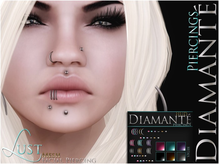 :Diamante: Lust Facial Piercing