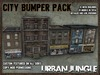 MESH CITY FILLER BUMPER PACK - 12 mesh buildings