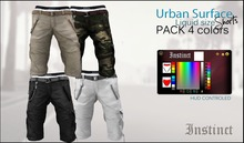 Instinct -Urban Surface Shorts  -Liquid Mesh - PACK