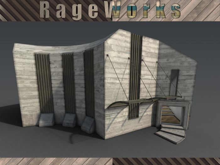 StudioCM - 100% Mesh - 45 Prims - (RageWorks)