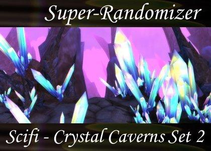 Super-Randomizer Orb / Scifi - Crystal Caverns Set #2 (53 Sounds)
