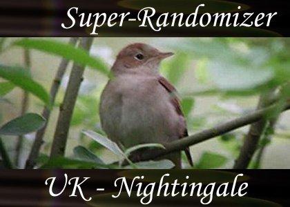 Super-Randomizer Orb / Nature - UK Nightingale (38 Sounds)