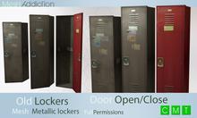 [MA] Mesh lockers (boxed)
