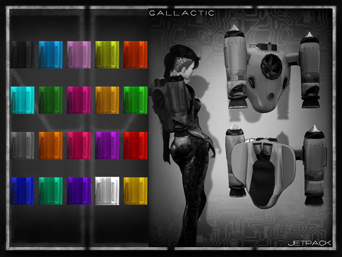 GALLACTIC:  Jetpack - all colors