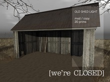 [we're CLOSED] shed light
