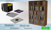 [MA] Mesh DJ Shelves with vinyl set (boxed)