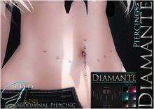 :Diamante: Greed Abdominal Piercing