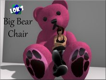 Lok's Big Bear Chair - Color Change