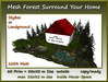 Mesh Forest Surround Your Home 80 Prim 50x50 mSize copy/mody