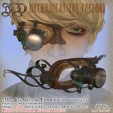 ~JD~ Steampunk Examination Goggles