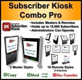 Subscriber Kiosk 3.0 Combo Pro