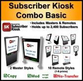 Subscriber Kiosk 3.0 Combo Basic