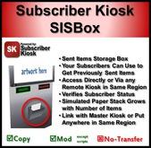 Subscriber Kiosk SISBox