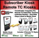 Subscriber Kiosk 3.0 Remote Transferrable/Copyable Kiosk Kit