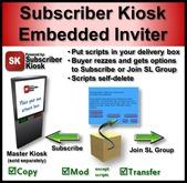 Subscriber Kiosk Embedded Inviter Kit