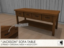 "KH Living: ""Jackson"" Sofa Table"