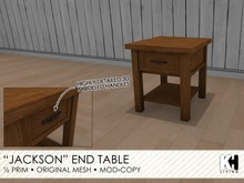 "KH Living: ""Jackson"" End Table"