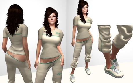 DOLLARBIE ::DC:: Sporty Outfit (beige)