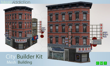 [MA] Builder Kit Mesh Building4 (boxed)