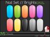 [M] Slink Nail Polish // Brights
