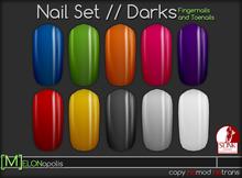 [M] Slink Nail Polish // Darks