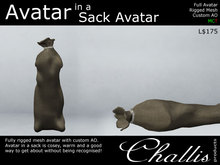 (Challis) Avatar In A Sack Avatar (BOXED) (MC)