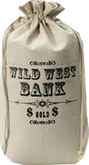 Money Bag Bank western one prim copy