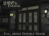 [L&T] - Double Door (Mesh)