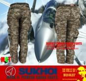 TUH Bunker- Sukhoi Cargo Pants Fitmesh-DESERT