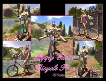 Project Puppet Happy Easter Bicycle Prop
