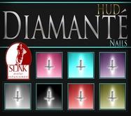 :Diamante: Crossed - Slink Enhancement Nails