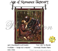 *PV* Age of Romance Tapestry