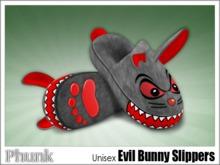 [Phunk] Unisex Evil Bunny Slippers