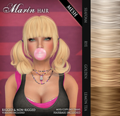 /Wasabi Pills/ Marin MESH Hair - Blonds Pack - DISCOUNTED